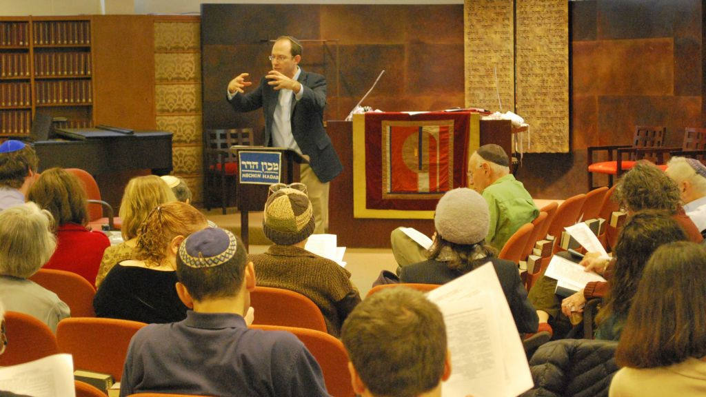 Rabbi Elie Kaunfer, the co-founder and executive director of New York's egalitarian Mechon Hadar, also has an online learning initiative called Project Zug, which pairs Israelis and Diaspora Jews for virtual chevruta-style learning. (courtesy)