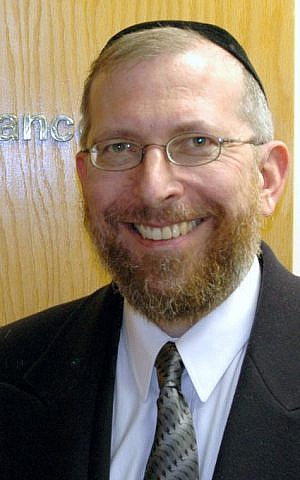 Rabbi Elimelech Goldberg is in the running for CNN Hero of the Year. (Courtesy)