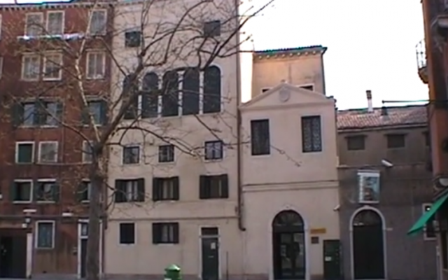 Venice Jewish Ghetto (YouTube screenshot)