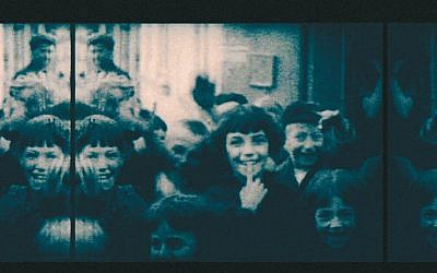 Still from Polish home movie circa 1920s-30s. (From the Archives of the YIVO Institute for Jewish Research, New York)