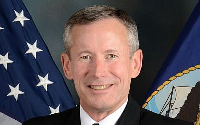 Director of US Naval Intelligence, Vice Adm. Ted Branch. (photo credit: public domain/United States Navy/Wikipedia)