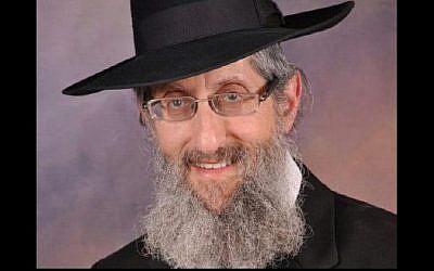 Rabbi Kalman Levine (Photo credit: Channel 2)