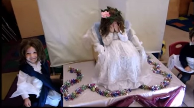 Young Mother Of The Bride: Hasidic Kids Star In Nuptial Video