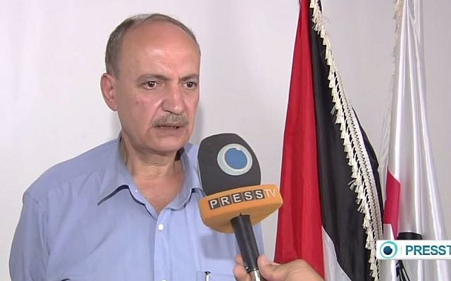 Palestine Liberation Organisation (PLO) official Wassel Abu Yusef. (screen capture: YouTube/PressTV News Videos)