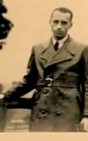 SS captain Alois Brunner as a young man (screen capture: YouTube)