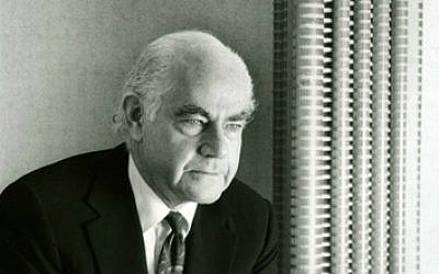 New York developer and philanthropist Bernard Spitzer, father of Jewish former New York governor Eliot Spitzer, dies aged 90 on November 1, 2014. (Courtesy, Urbana Properties)
