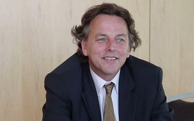 Dutch Foreign Minister Bert Koenders (photo credit: YouTube screenshot)