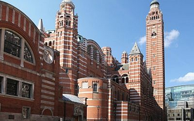 London's Westminster Cathedral. (Photo credit:  Westminster Cathedral image via Shutterstock)