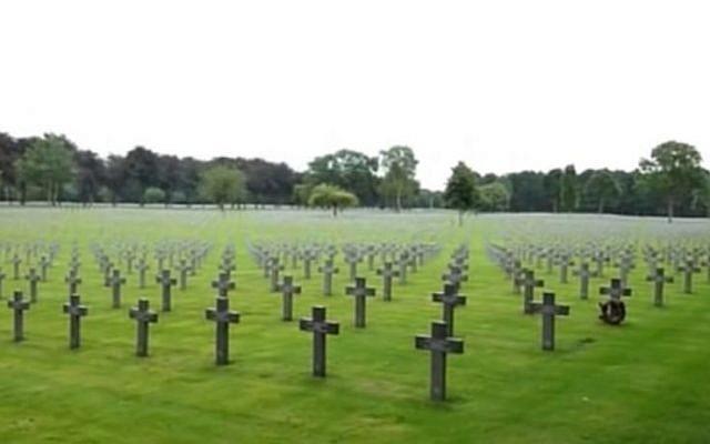 German War Cemetery in Ysselsteyn, the Netherlands where the German ambassador will attend a World War II commemoration. (Photo Credit: You Tube screenshot)