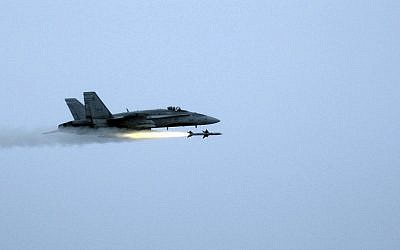 A Canadian Armed Forces CF-18A Hornet. (MSgt. Michael Ammons, USAF/Wikimedia)