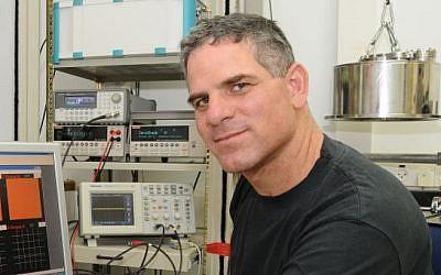 Prof. Danny Porath, a physical chemist at the Hebrew University of Jerusalem, who led the study. (photo credit: Courtesy)