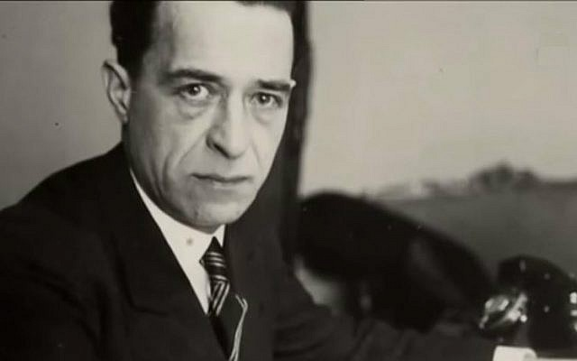 Jacques Jaujard, the deputy head of the Louvre in Paris during World War II. (screen capture: YouTube)