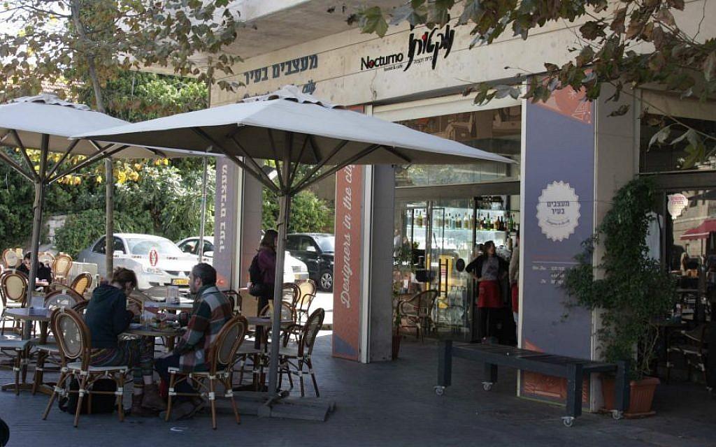 Nocturno cafe (photo credit: Shmuel Bar-Am)