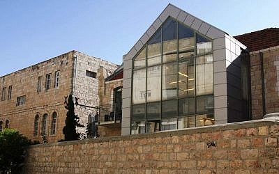 The Bezalel Academy Department of Architecture, on Shmuel HaNagid Street (photo credit: Shmuel Bar-Am)