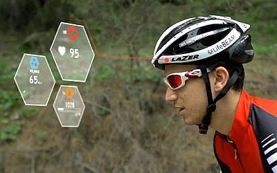LifeBEAM bike helmet (Photo credit: Courtesy)
