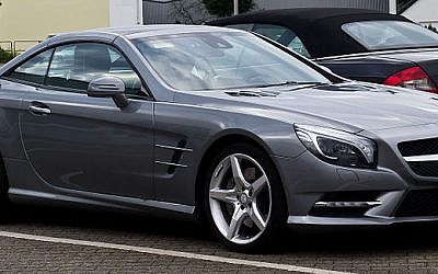 Illustrative photo of a Mercedes (CC BY, M93, Wikipedia)