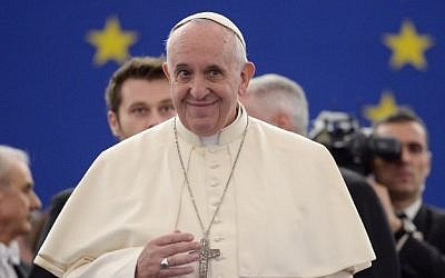 Pope Francis, November 25, 2014 (AFP/Patrick Hertzog/Pool)