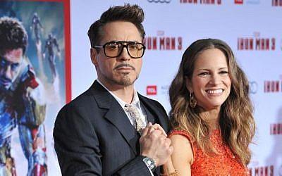 Robert Downey, Jr. and his wife Susan Jaguar PS / Shutterstock.com
