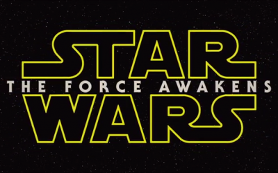 A screenshot of the title screen of Star Wars: Episode VII - The Force Awakens. (screen capture: YouTube/MOVIE CLIPS Trailers)