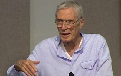 Screenshot of a poetry reading with Mark Strand at the 2013 Sewanee Writers' Conference. (Photo credit: YouTube)