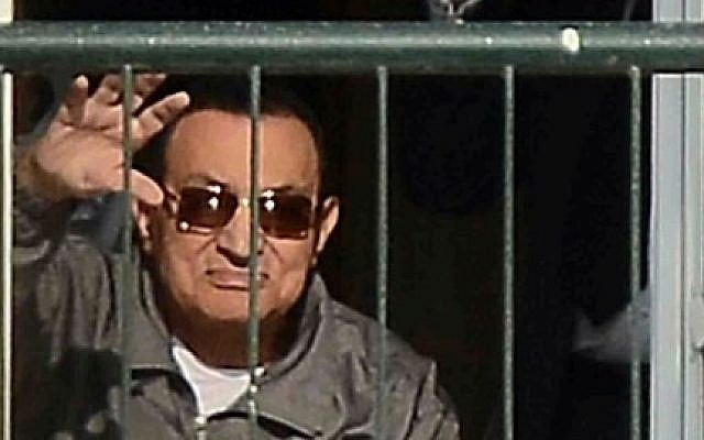 Egypt's Mubarak may be freed after court ruling | The Times of Israel