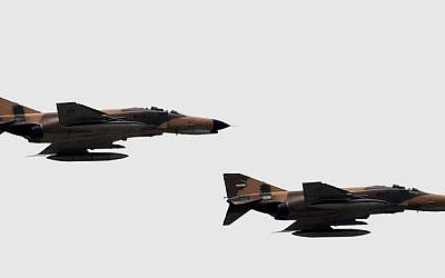 Former F-14 pilot named new Iran air force chief