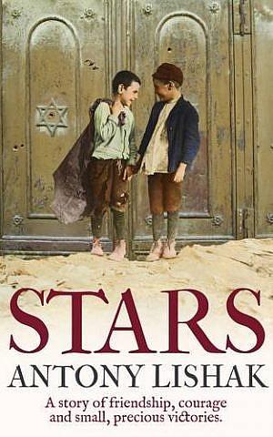 The cover of Antony Lishak's new book, 'Stars.' (courtesy)