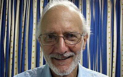 Alan Gross at Finlay military hospital during his prison sentence in Havana, Cuba, November 27, 2012. (AP/James L. Berenthal, File)