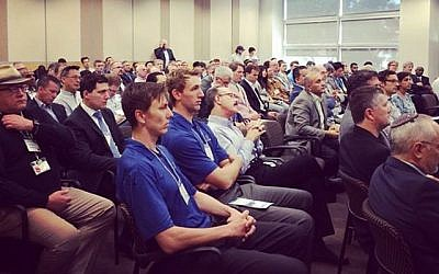 Participants at a recent Axis Innovation event (Photo credit: Courtesy)
