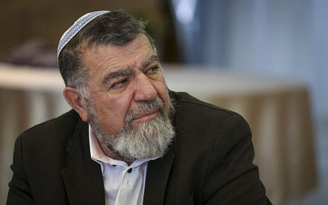 Head of the Samaria Regional Council Gershon Mesika on February 7, 2014. (Hadas Parush/Flash 90)