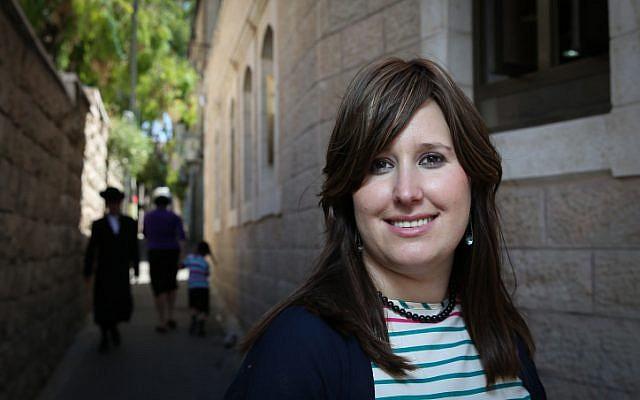 Racheli Ibenboim in Jerusalem, on Sunday, June 1, 2014. (photo credit: Hadas Parush/Flash90)