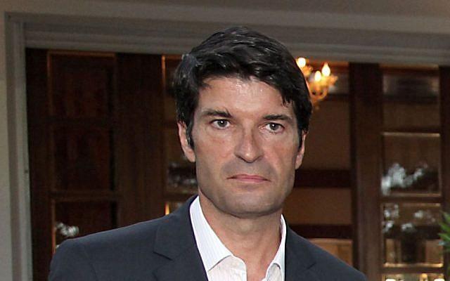 French Ambassador to Israel Patrick Maisonnave (Gideon Markowicz/Flash90)