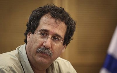 Professor Dan Ben David, chairman of the Taub Center, during a Knesset committee discussion on June 25, 2014 (photo credit: Hadas Parush/Flash90)