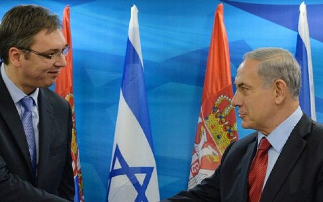 Srbija ipak ne seli veleposlanstvo u Jeruzalem F141201KBG05-e1417444066315-640x400