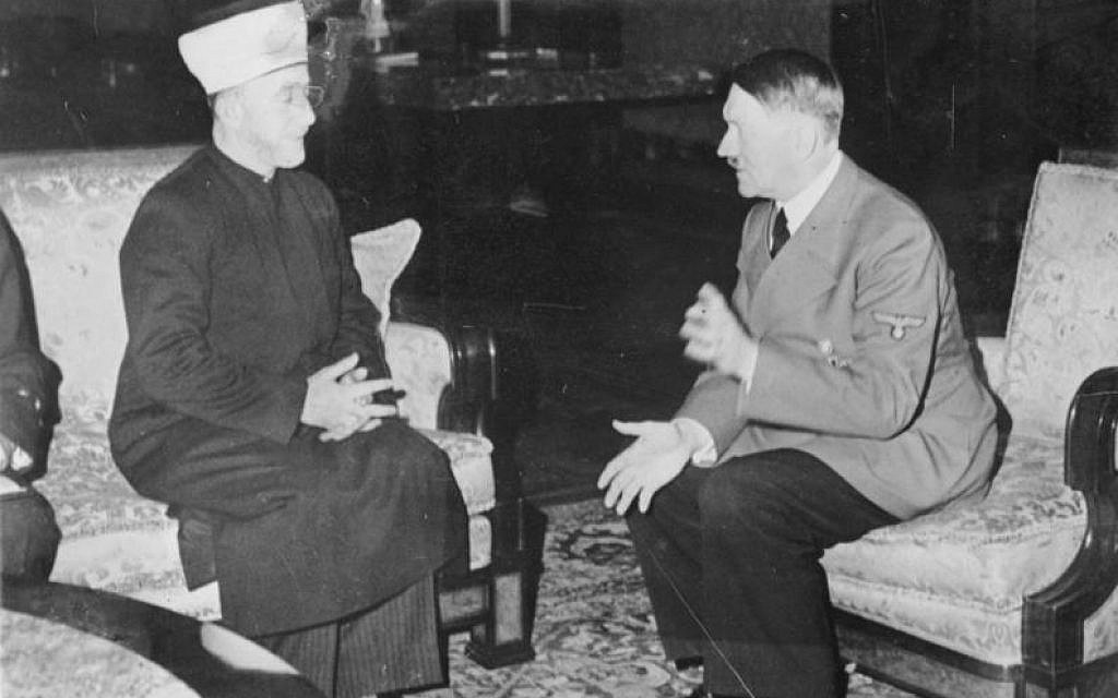 Image result for GRAND MUFTI WITH HITLER