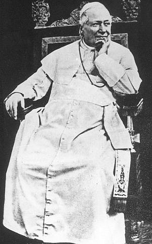 Pope Pius IX took a special interest in Edgardo Mortara's Christian education. (public domain)