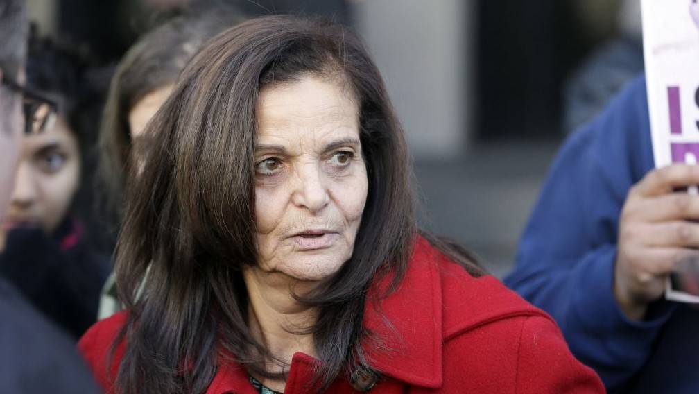 Rasmea Yousef Odeh, November 10, 2014. (AP/Carlos Osorio, File)