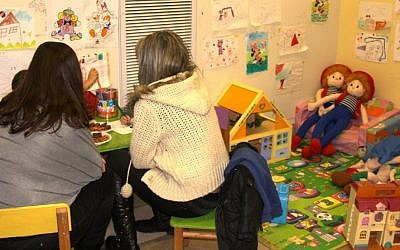 Inside the Jerusalem Child Protection Center (photo credit: Shmuel Bar-Am)