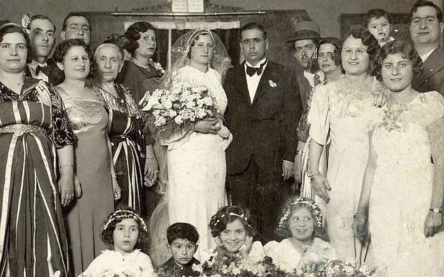 A North African Jewish wedding. (Courtesy of JIMENA)