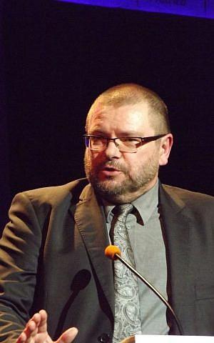 Far-right Polish MEP Robert Iwaszkiewicz 'saved' Nigel Farage's bloc in the European Parliament. (Łukasz 'Toldo' Cichy, CC-BY-SA)