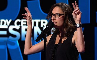 Pretty potty mouthed Jessi Klein appears on Comedy Central. (courtesy: Comedy Central, CC.com)