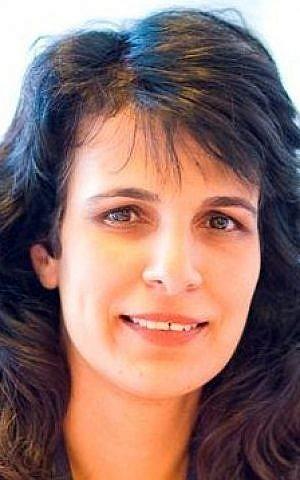 Nitsana Darshan-Leitner, chairwoman of Shurat HaDin, the Israel Law Center (Courtesy: Shurat HaDin)