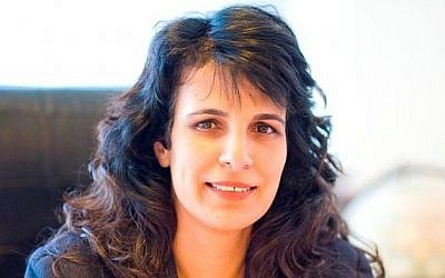 Nitsana Darshan-Leitner, chairwoman of Shurat HaDin -- Israel Law Center (Courtesy Shurat HaDin)
