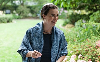Rabbi Rachel Nussbaum, Kavana (Andy Ahlstrom/JTA)