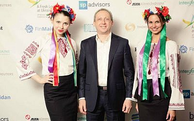 Jewish Russian banker Slava Rabinovich in Kiev. (Courtesy of SP Advisors)