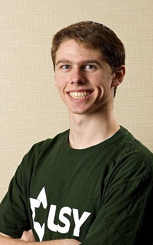 UC Santa Barbara freshman, 2014 international USY president Aaron Pluemer. (Carl Aylman)