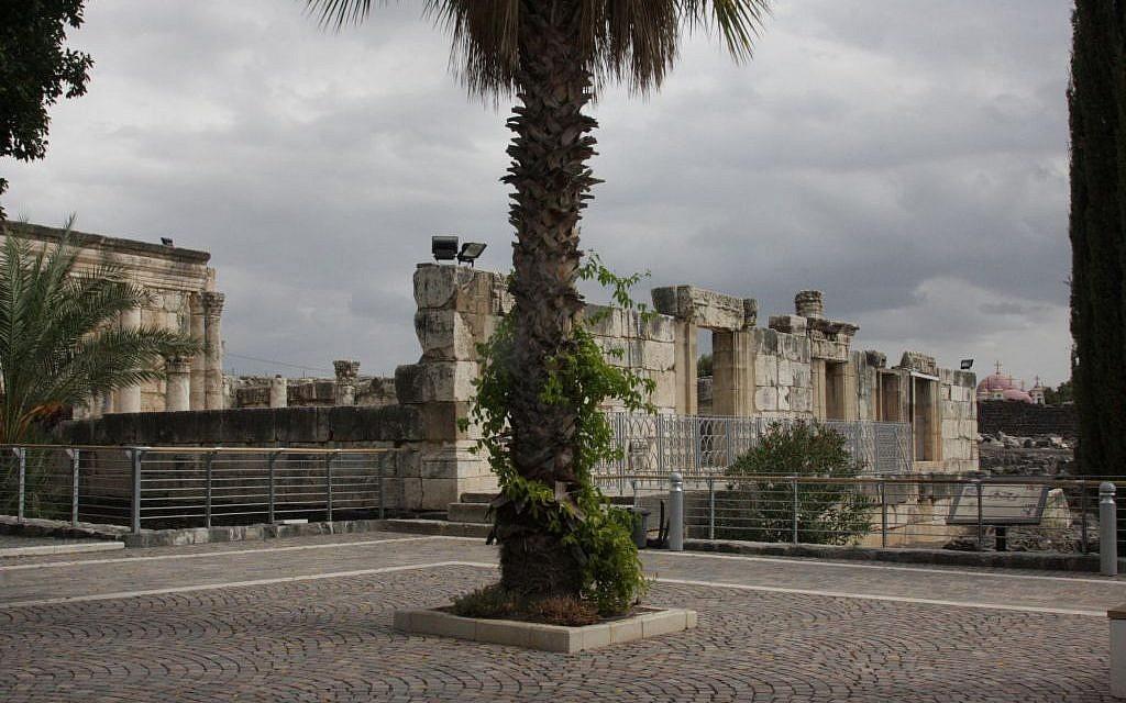 The glories of Capernaum (photo credit: Shmuel Bar-Am)