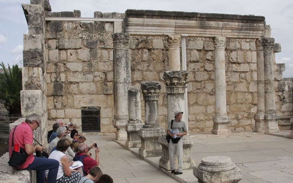 Ancient Capernaum, on the shores of Lake Kinneret (photo credit: Shmuel Bar-Am)