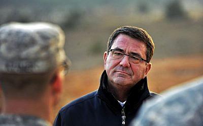Ashton B. Carter at a Turkish army base in Gaziantep, Turkey, Feb. 4, 2013. (Glenn Fawcett/Department of Defense)