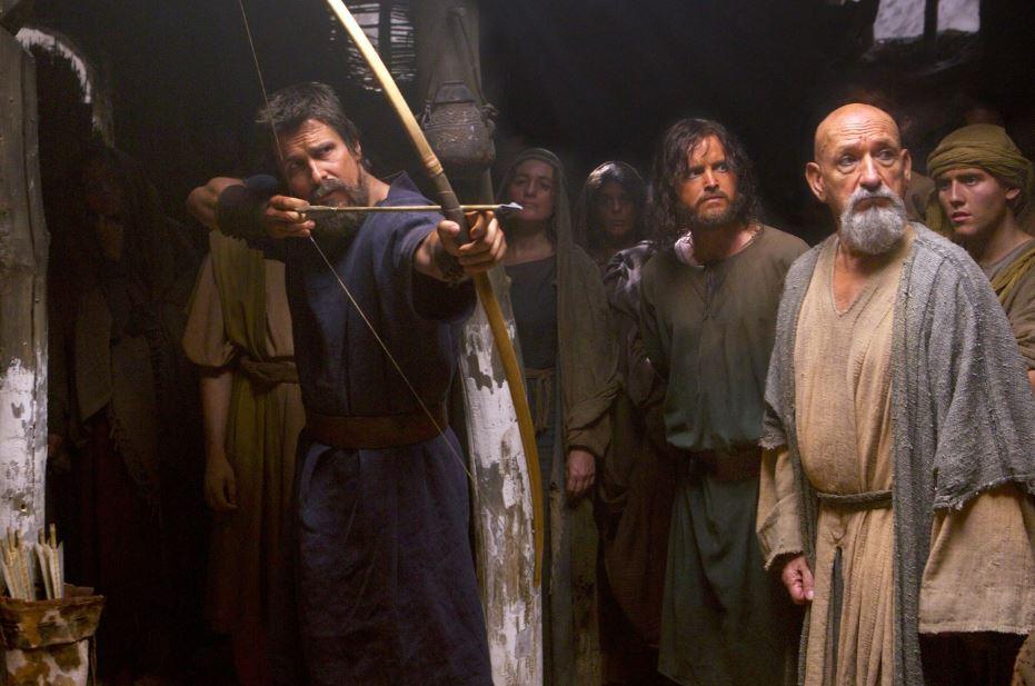 'Exodus' a la 'Braveheart.' Moses prepares the slaves for rebellion. (20th Century Fox)